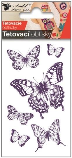 Obtisky tetovací 10,5x6 cm- s otakárkem (1128)