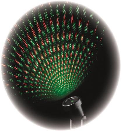Projektor laser červená + zelená + 5 m přívodní kabel