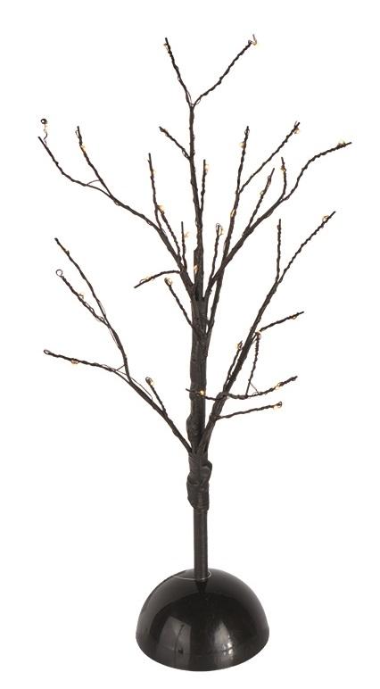Osvětlení větve 40 cm, 32 LED, teplá bílá
