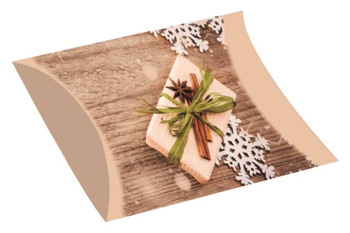 Skládací krabička dárková M 28 x 15 cm (12285)