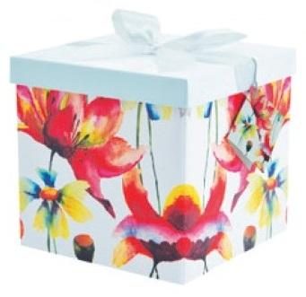Dárková krabička - 3. KVĚTINY