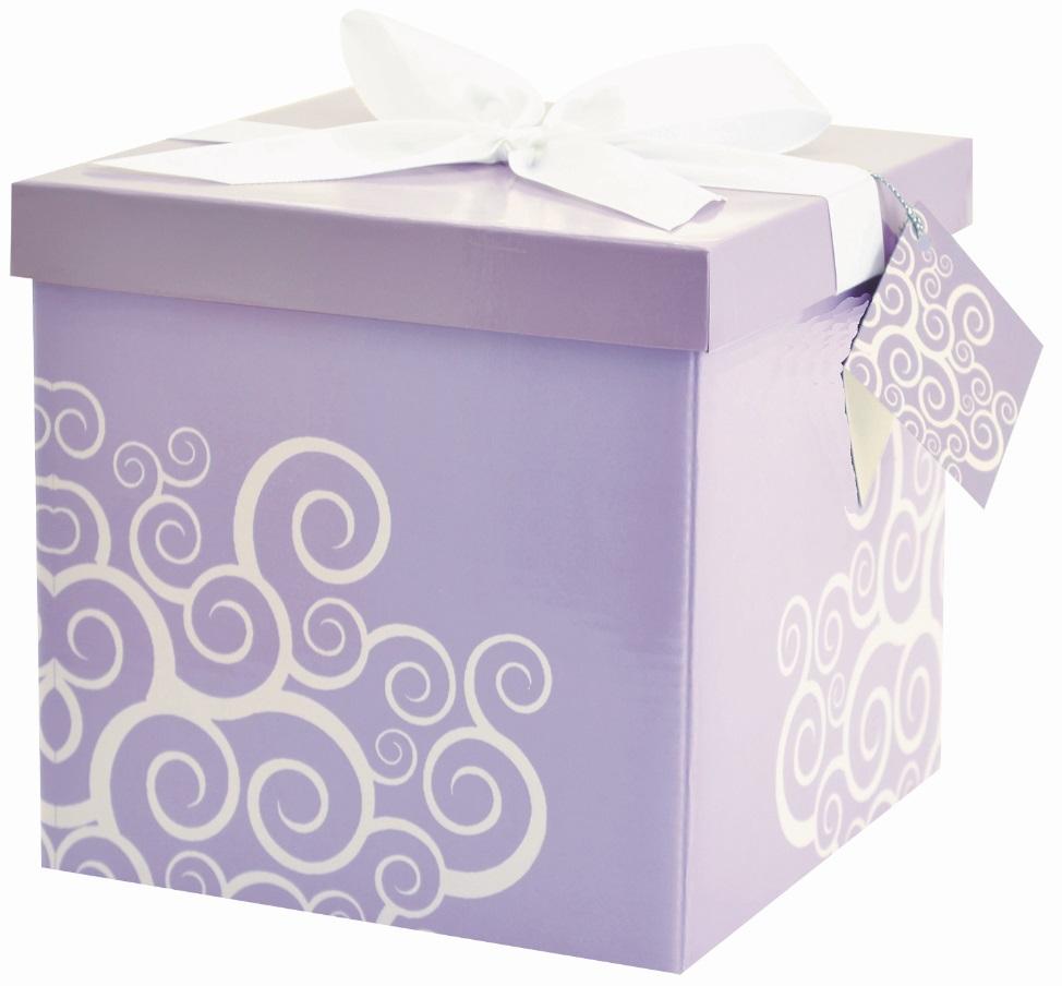 Dárková krabička - 2. FIALOVÁ (1377-02)