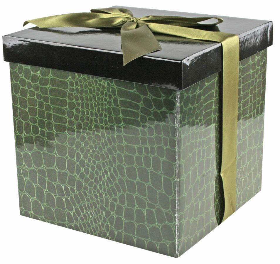 Dárková krabička - 5. ČERNOZELENÁ