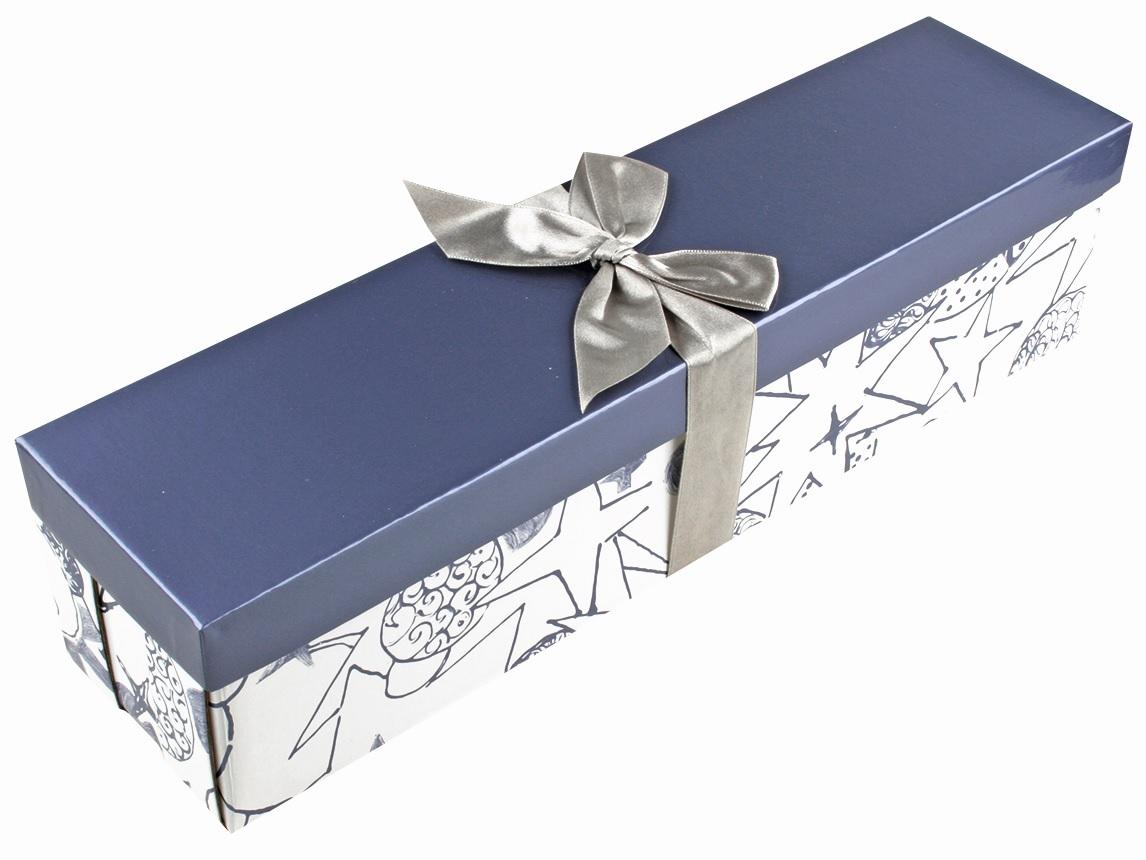 Dárková krabička - 6. MODROBÍLÁ