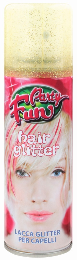 Lak s glitry na vlasy - 1. ZLATÁ 14301 (143-01)