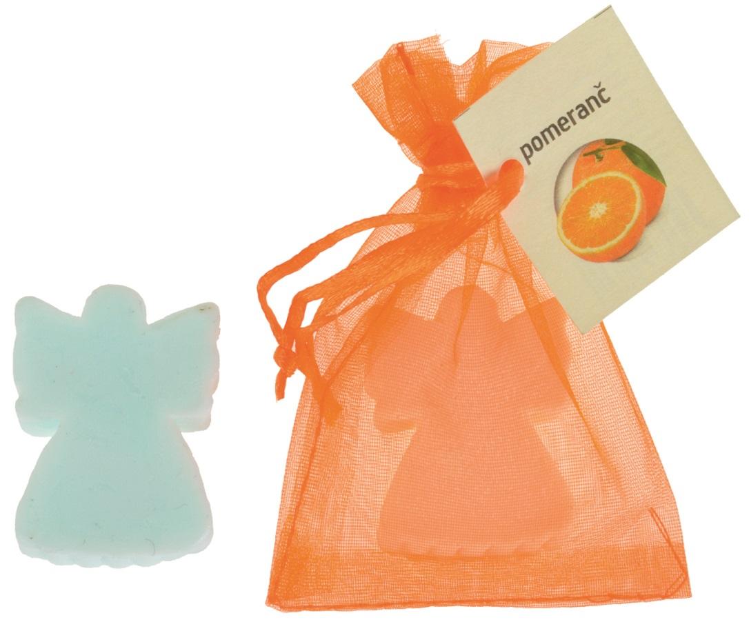 Mýdlo vonné glycerínové anděl pomeranč, 20 g
