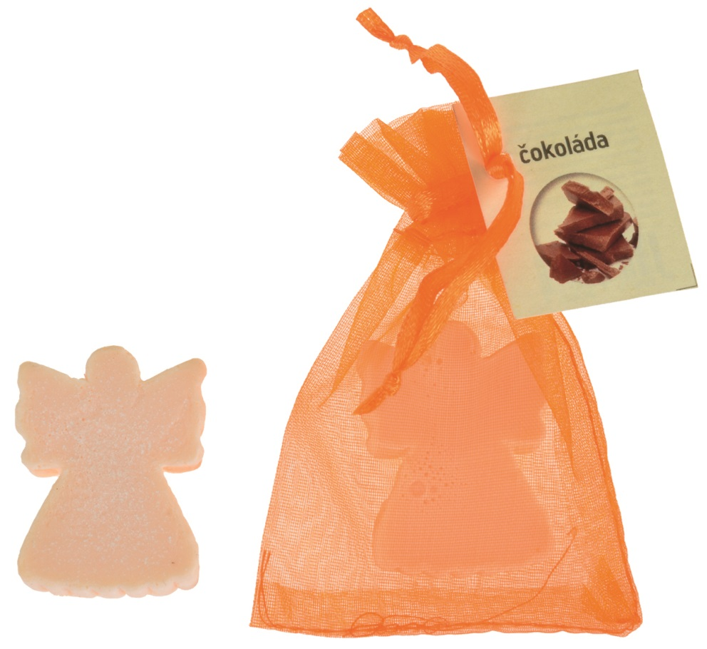 Mýdlo vonné glycerínové anděl čokoláda, 20 g