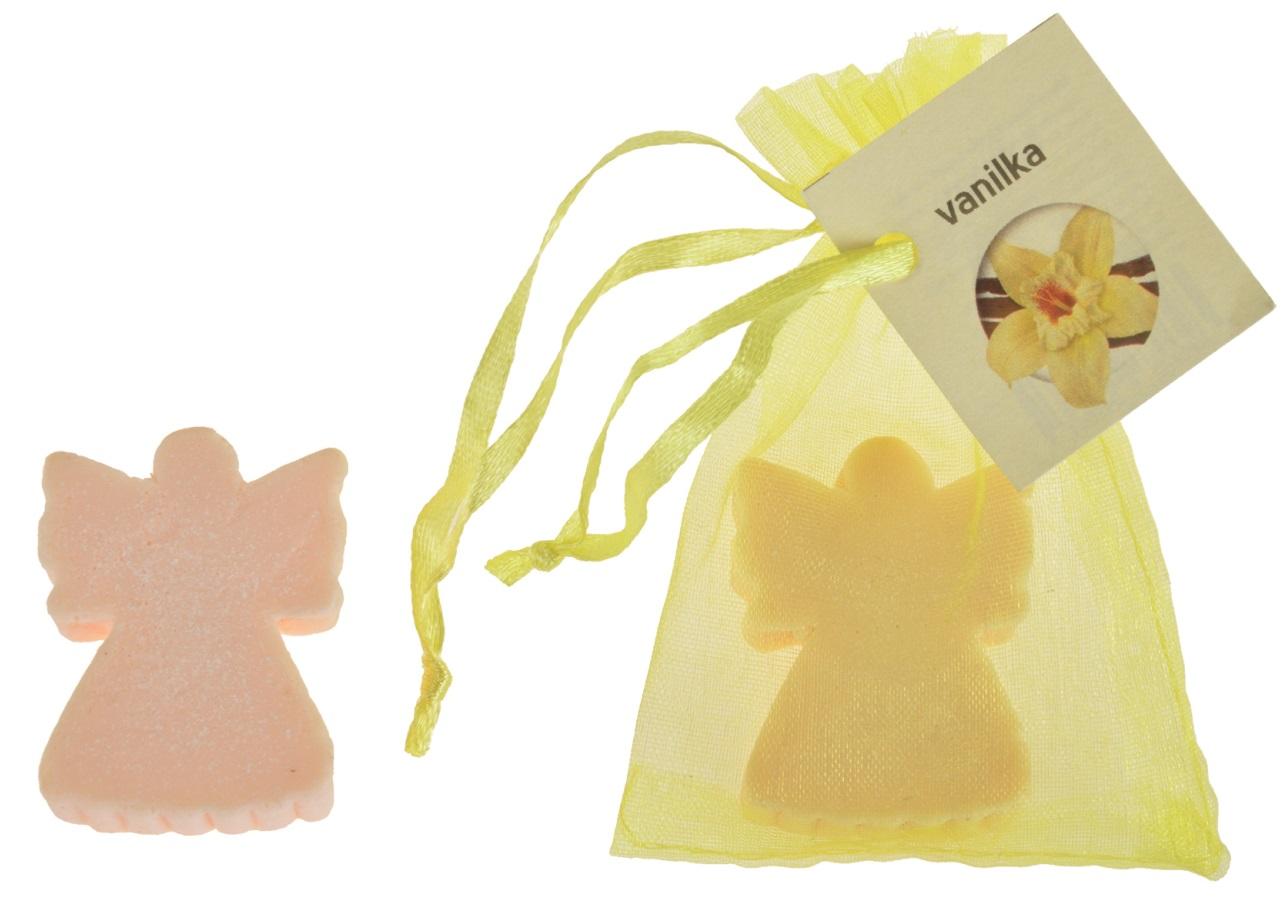 Mýdlo vonné glycerínové anděl vanilka, 20 g