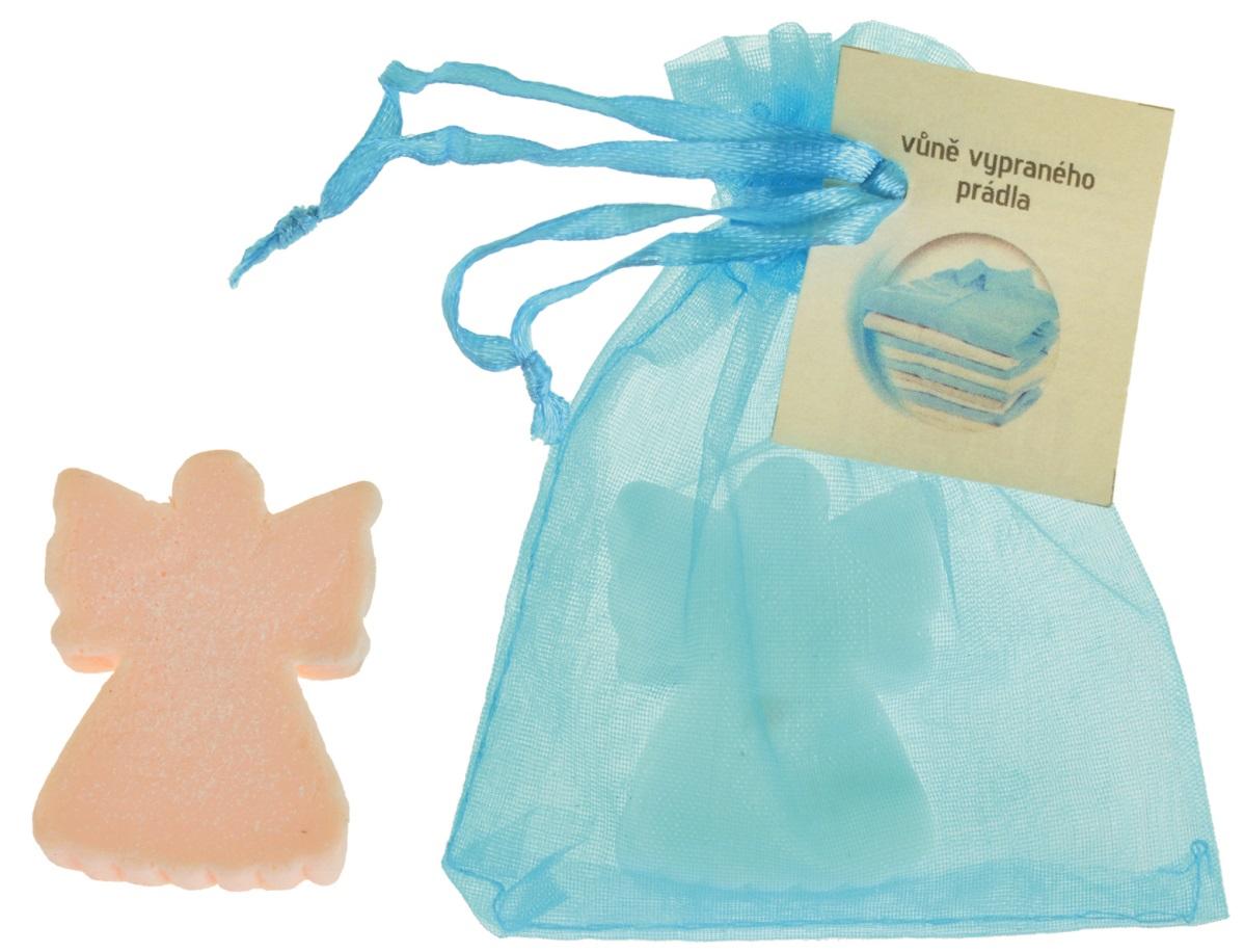 Mýdlo vonné glycerínové anděl prádlo, 20 g