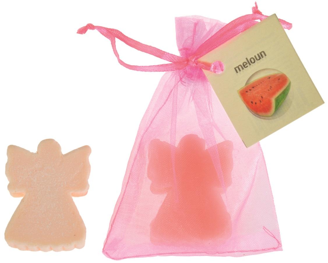 Mýdlo vonné glycerínové anděl meloun, 20 g