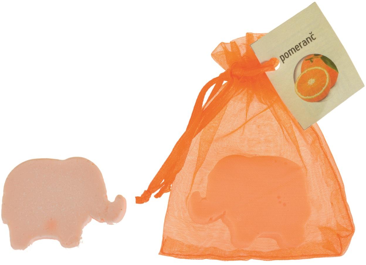 Mýdlo vonné glycerínové slon pomeranč, 20 g