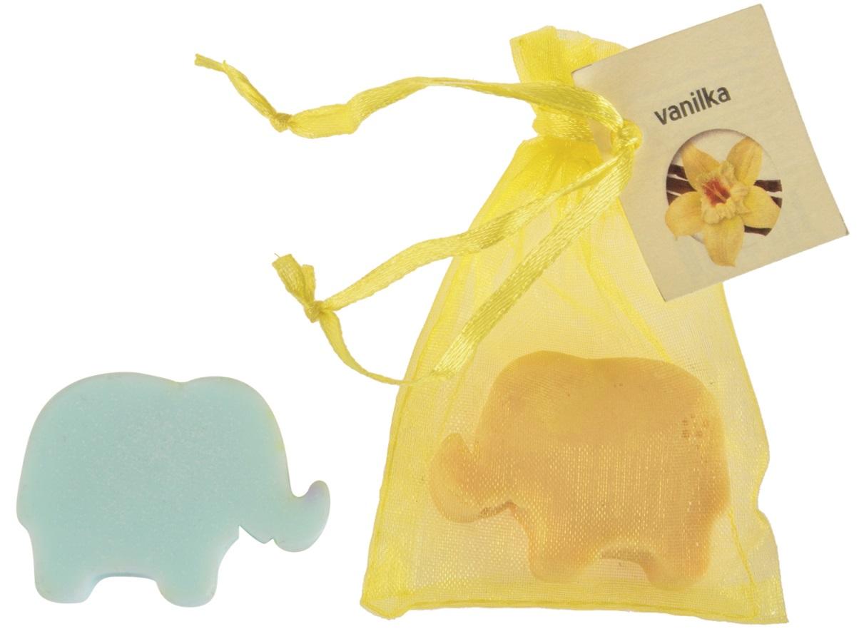 Mýdlo vonné glycerínové slon vanilka, 20 g