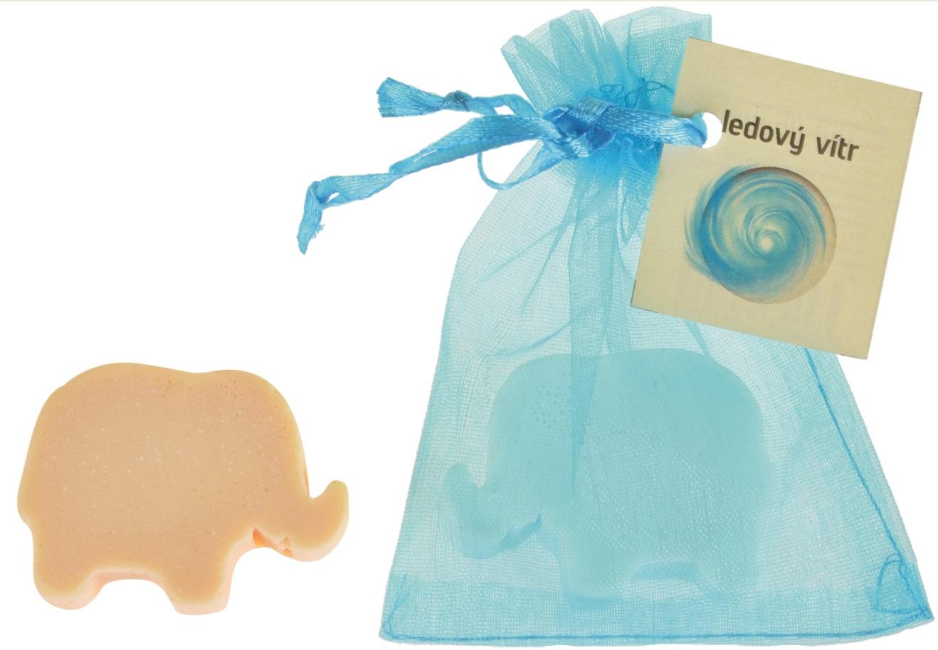Mýdlo vonné glycerínové slon ledový vítr, 20 g