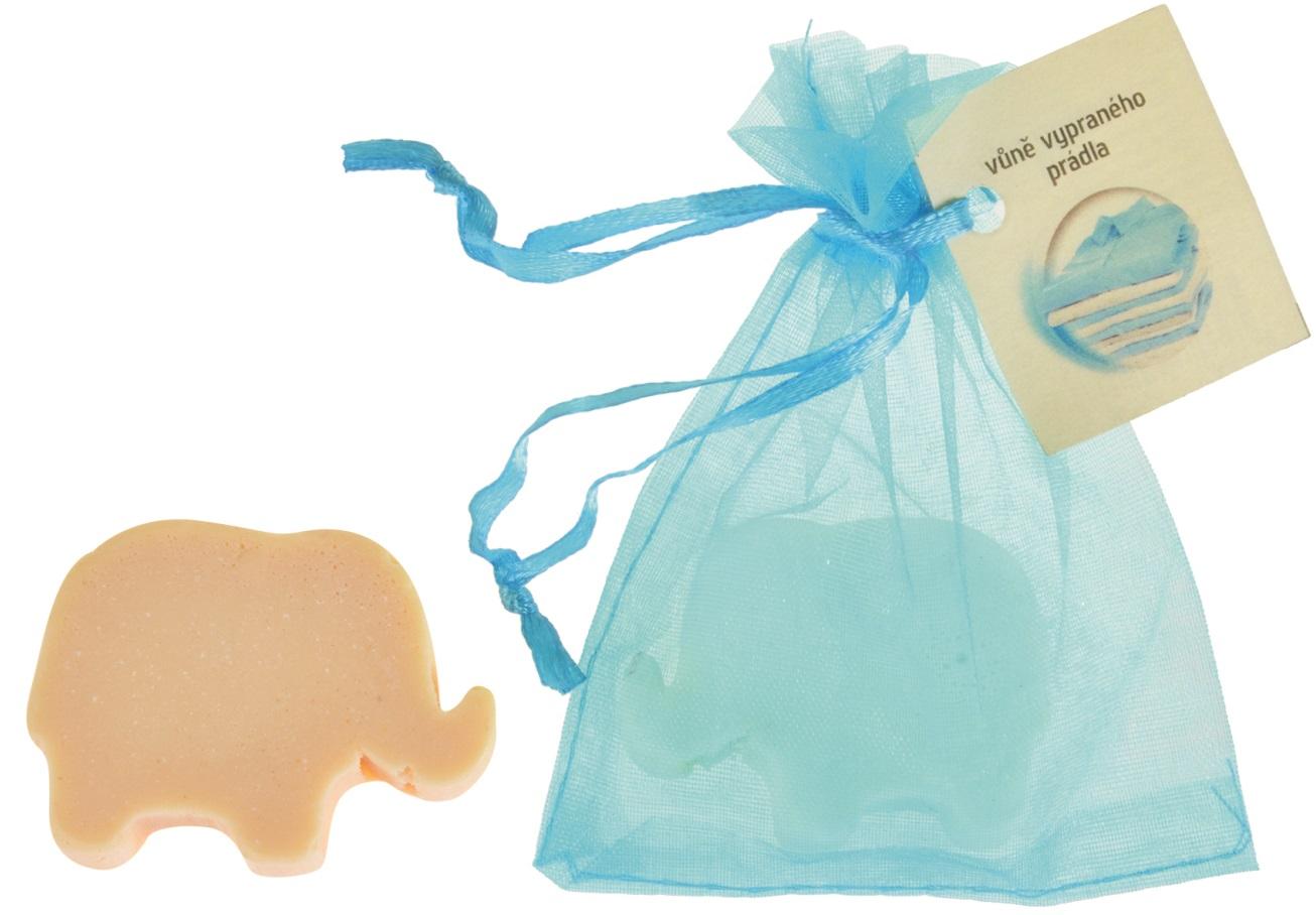 Mýdlo vonné glycerínové slon prádlo, 20 g (14516)