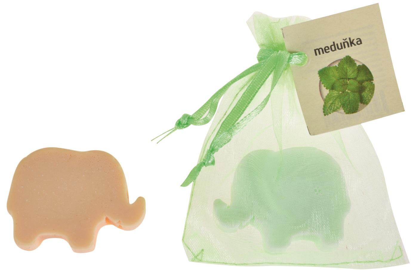 Mýdlo vonné glycerínové slon meduňka, 20 g (14518)