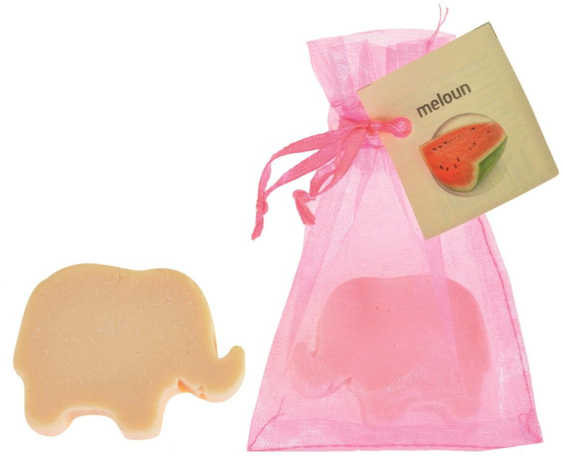 Mýdlo vonné glycerínové slon meloun, 20 g