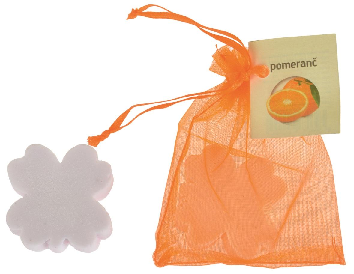 Mýdlo vonné glycerínové čtyřlístek pomeranč, 20 g