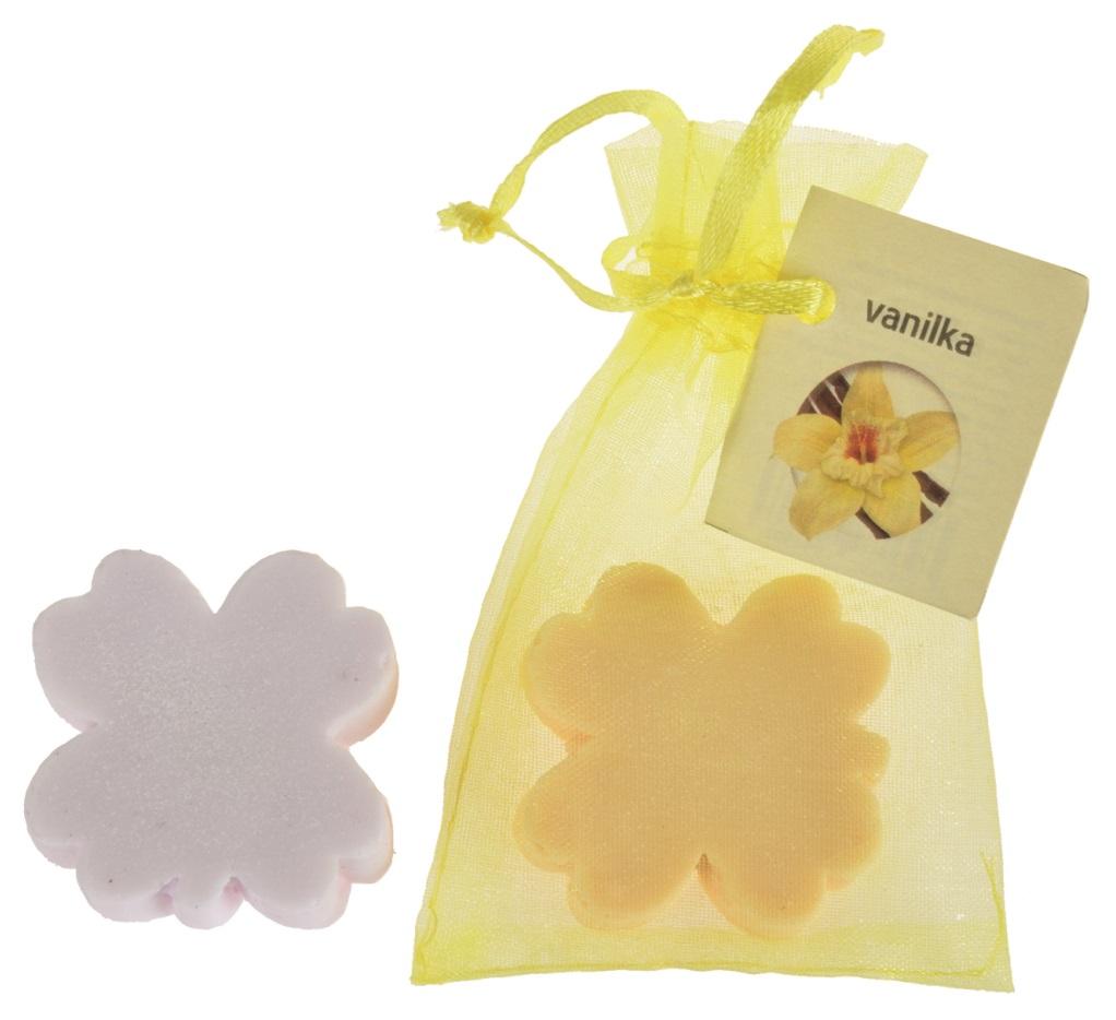 Mýdlo vonné glycerínové čtyřlístek vanilka, 20 g
