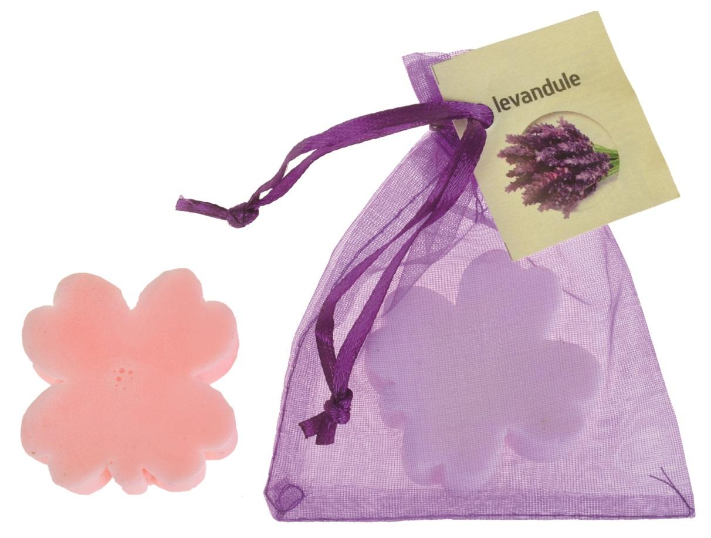 Mýdlo vonné glycerínové čtyřlístek levandule, 20 g