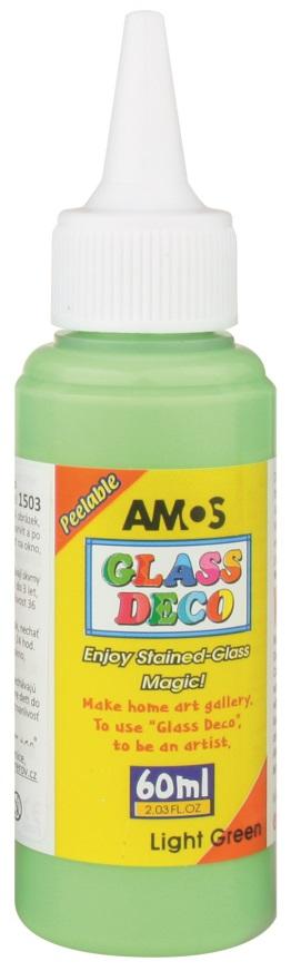 Barvy na skleněné plochy 60 ml - 10. SVĚTLE ZELENÁ