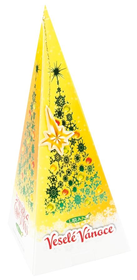 Balení vánoční zeleného čaje, med a skořice 20 x 2 g (17000) (17000)