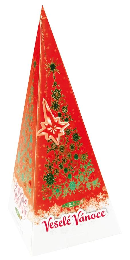 Balení vánoční zeleného čaje, pomeranč a skořice 20 x 2 g