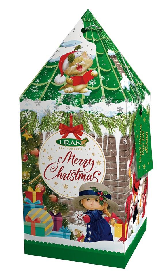 Vánoční balení zeleného čaje VĚŽ zelená, 20 x 2 g (17018)