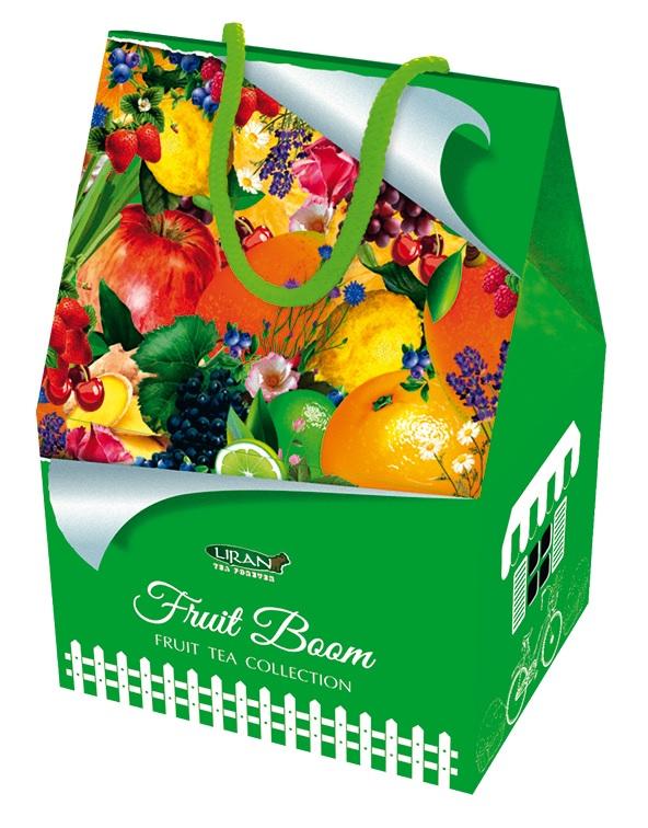 Dárkové balení  čajů mix,  DOMEČEK ovocný 6 x 3 x 2 g