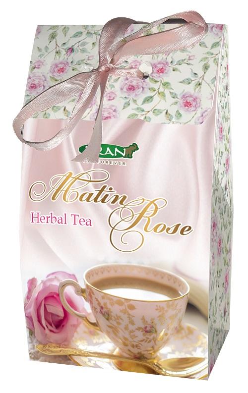 Čaj RŮŽOVÉ RÁNO zelený čaj s aroma jasmínu 75 g (17021)