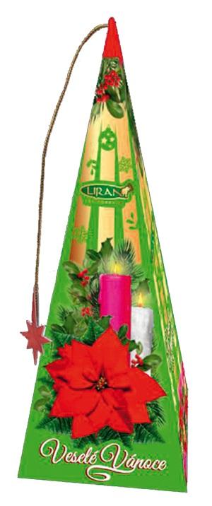 Vánoční balení zelených čajů s příchutí medu a skořice 18 x 2 g (17027)