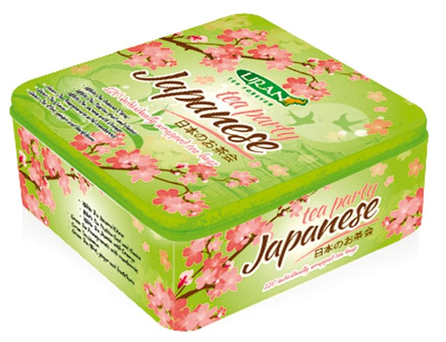 Dárkové balení JAPONSKÝ SAD zelených  čajů s jasmínem 120 g (17028)