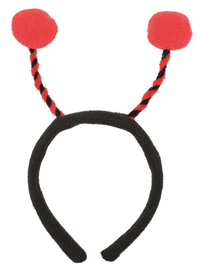 Tykadla čelenka, červená (18030)