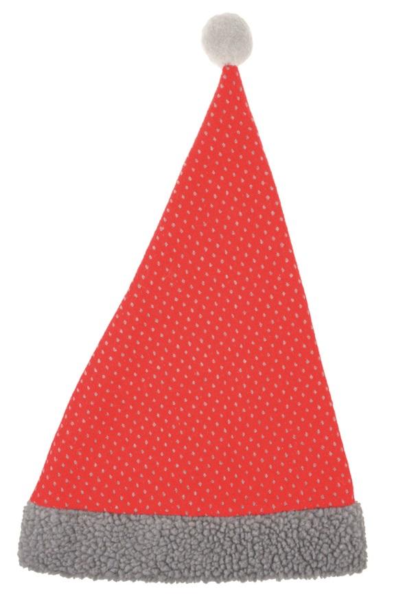 Čepice mikulášská textilní 47 cm