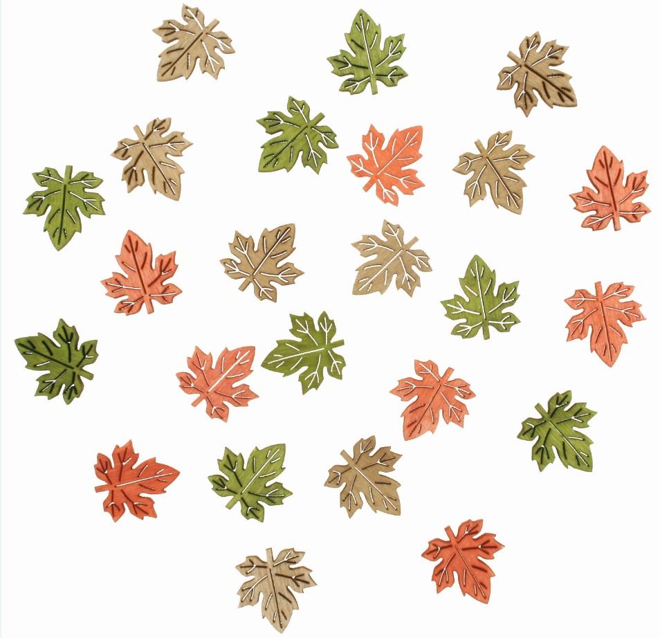 Listy dřevěné 2 cm, 24 ks