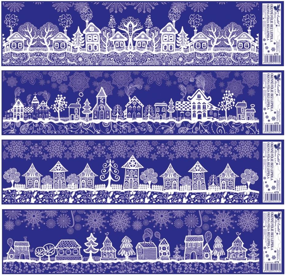 Fólie na okna domy 59x15 cm (479) (479)