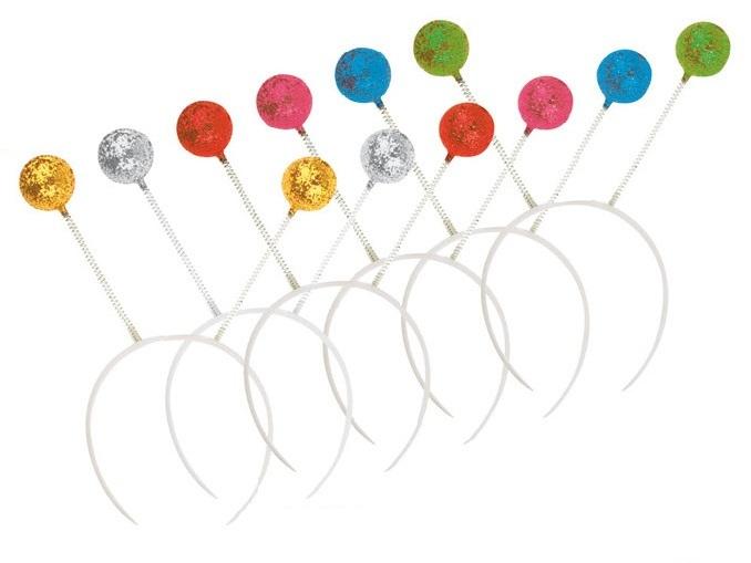 Tykadla čelenka - mix barev