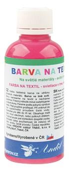 Barvy na textil 50g 4. RŮŽOVÁ (6101-04)