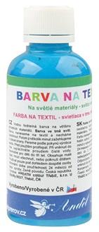 Barvy na textil 50g 6. SVĚTLE MODRÁ (6101-06)