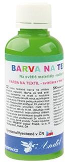 Barvy na textil 50g 8. SVĚTLE ZELENÁ (6101-08)