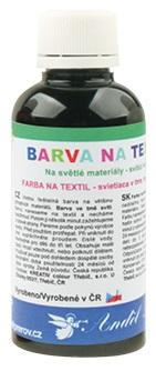 Barvy na textil 50g 12. ČERNÁ (6101-12)