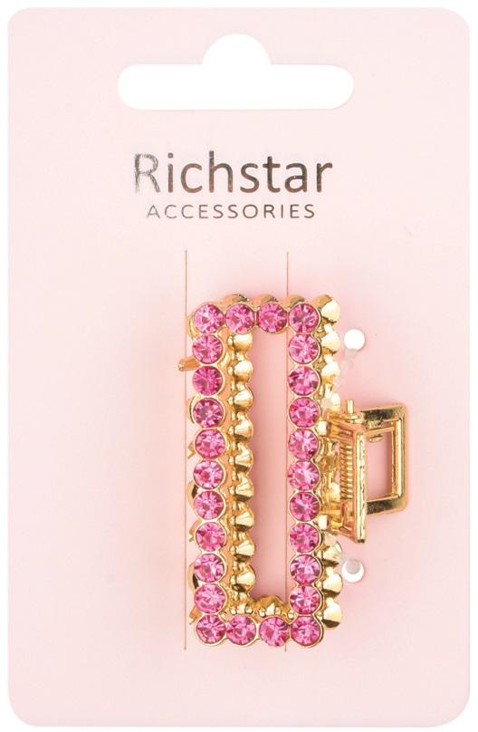 Skřipec zlatý s růžovými perličkami 5 cm