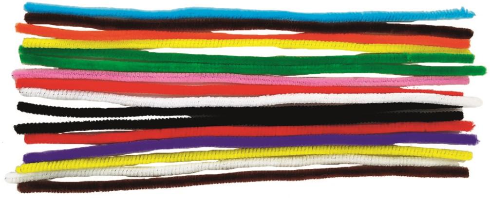 Žinylka drátky mix barev 16ks v sáčku (6702-11)
