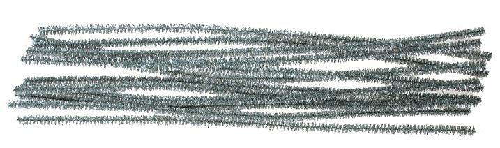 Žinylka drátky stříbrné (6703-01)