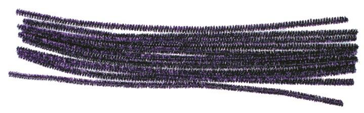 Žinylka drátky fialové