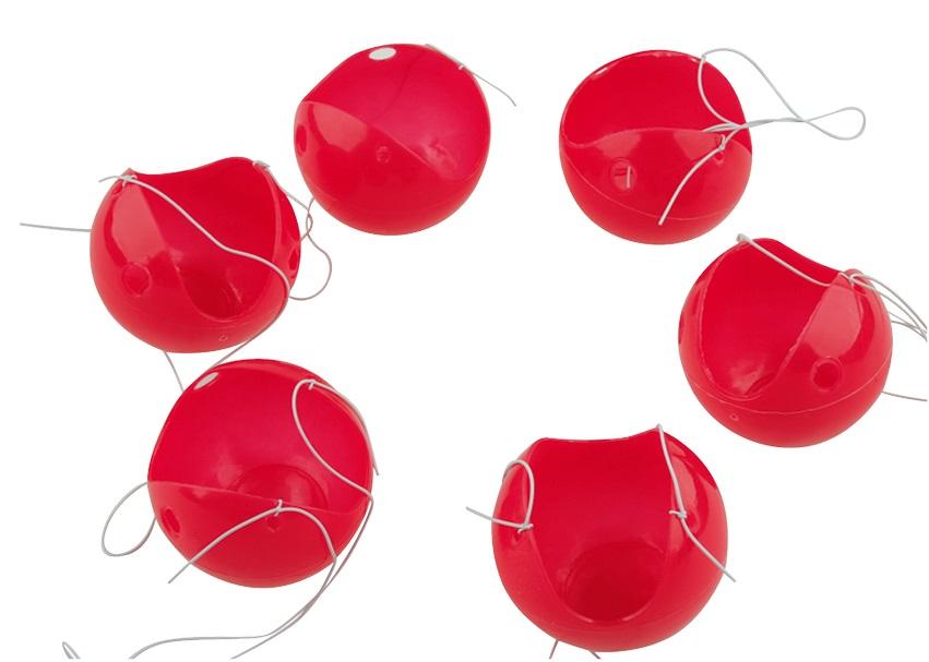 Červený nos 6 ks v balení (9003)