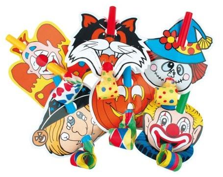 Frkačky s klaunem 6 ks v balení (9005)