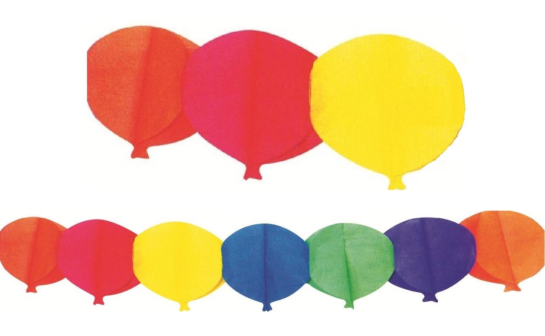 Girlanda 400x20 cm - balónky