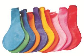 Balónky 25 cm 100 ks v sáčku, mix barev (9031)