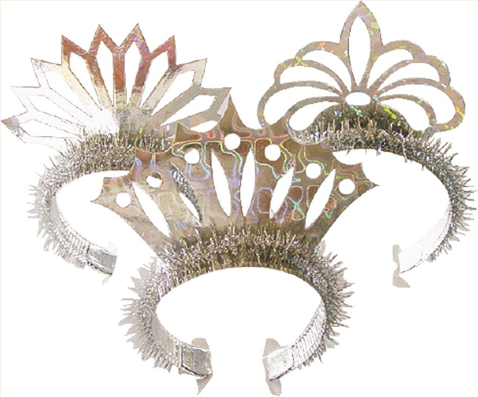 Čelenka pro princezny 6 ks v balení (9069)