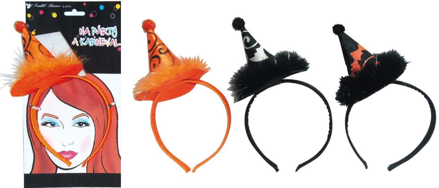 Čelenka - klobouček Halloween